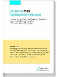 ICD-10-GM 2019 Alphabetisches Verzeichnis