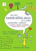 Vicky Bo's Kinder-Rätsel-Buch ab 3 Jahren