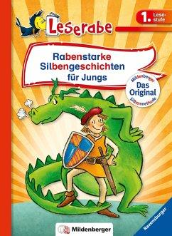 Rabenstarke Silbengeschichten für Jungs - Reider, Katja; Ondracek, Claudia