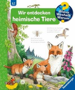 Wir entdecken heimische Tiere / Wieso? Weshalb? Warum? Bd.71 - Mennen, Patricia