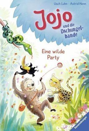 Buch-Reihe Jojo und die Dschungelbande