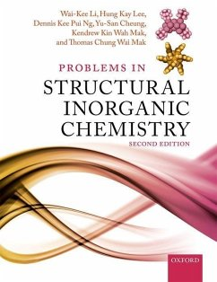 Problems in Structural Inorganic Chemistry - Li, Wai-Kee (Formerly Emeritus Professor, Formerly Emeritus Professo; Lee, Hung Kay (Associate Professor, Associate Professor, Department ; Ng, Dennis Kee Pui (Professor, Professor, Department of Chemistry, T