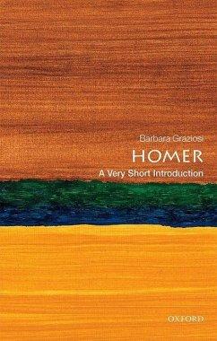 Homer: A Very Short Introduction - Graziosi, Barbara (Professor of Classics, Durham University)