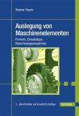 Auslegung von Maschinenelementen (eBook, PDF)
