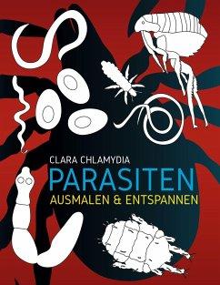 Parasiten Ausmalen & Entspannen - Chlamydia, Clara