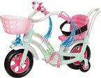 Zapf Creation 827208 - Baby Born, Play&Fun Fahrrad rosa, weiß,