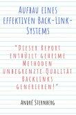 Aufbau eines effektiven Back-Link-Systems (eBook, ePUB)