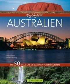Highlights Australien (Mängelexemplar) - Leue, Holger; Müssig, Jochen