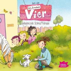 Geheimcode: Schnüffelnase / Die frechen Vier Bd.4 (MP3-Download) - Luhn, Usch