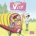 Mit Sack und Pack ins Abenteuer / Die frechen Vier Bd.3 (MP3-Download)