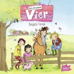 Saugute Ferien / Die frechen Vier Bd.2 (MP3-Download) - Luhn, Usch