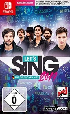 Let's Sing 2019 mit deutschen Hits (Nintendo Switch)