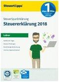 SteuerSparErklärung Lehrer 2019 CD-ROM (für Steuerjahr 2018)