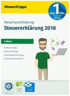 SteuerSparErklärung Lehrer 2019 (für Steuerjahr 2018)