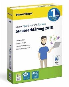 SteuerSparErklärung Mac 2019 (für Steuerjahr 2018)
