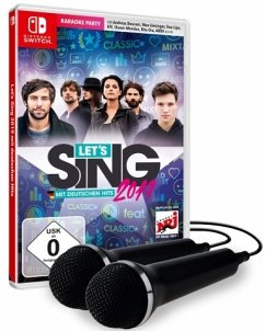 Let's Sing 2019 mit deutschen Hits [+ 2 Mics] (Nintendo Switch)