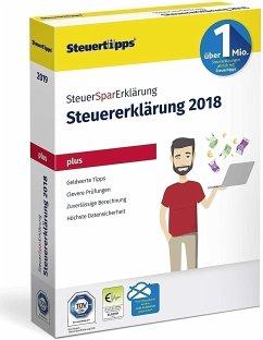 SteuerSparErklärung Plus 2019 CD-ROM (für Steuerjahr 2018)