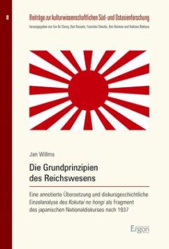 Die Grundprinzipien des Reichswesens - Willms, Jan
