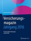 Versicherungsmagazin - Jahrgang 2016