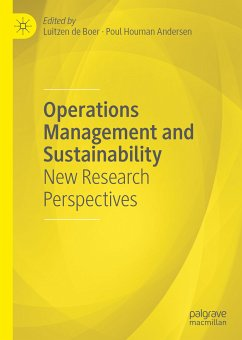 Operations Management and Sustainability (eBook, PDF)
