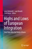 Highs and Lows of European Integration (eBook, PDF)