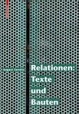 Relationen: Texte und Bauten (eBook, PDF)