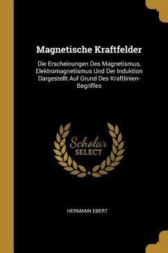 Magnetische Kraftfelder: Die Erscheinungen Des Magnetismus, Elektromagnetismus Und Der Induktion Dargestellt Auf Grund Des Kraftlinien-Begriffe