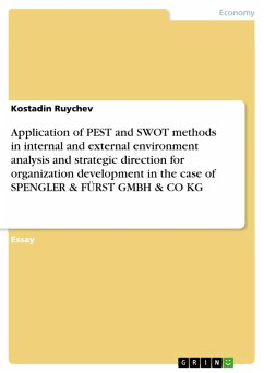 Application of PEST and SWOT methods in interna...