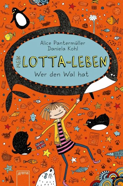 Buch-Reihe Mein Lotta-Leben von Alice Pantermüller