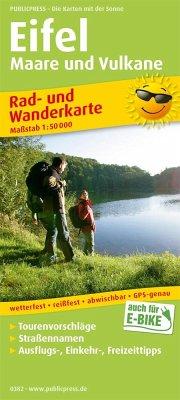 PUBLICPRESS Rad- und Wanderkarte Eifel - Maare ...