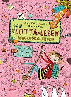 (Mein) Dein Lotta-Leben. Schülerkalender 2019/2020 - Pantermüller, Alice