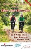 KKV Rad- und Wanderkarte Wandern und Radwandern zwischen Eder und Schwalm