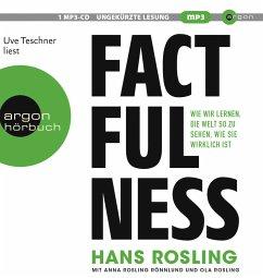 Factfulness, 1 MP3-CD - Rosling, Hans