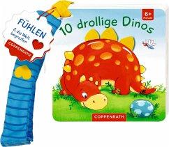 Mein erstes Fühl-Buch für den Buggy: 10 drollige Dinos