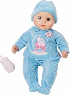 Zapf Creation 702567 - Baby Annabell, Little Alexander, Puppe, 36cm blau