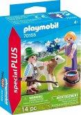 PLAYMOBIL® 70155 Kinder mit Kälbchen