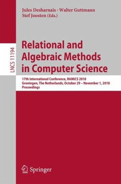 Relational and Algebraic Methods in Computer Sc...