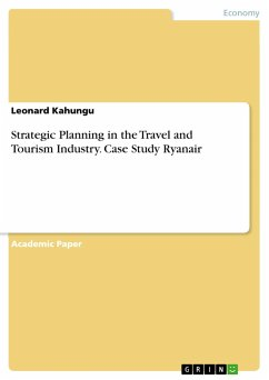 Strategic Planning in the Travel and Tourism Industry. Case Study Ryanair