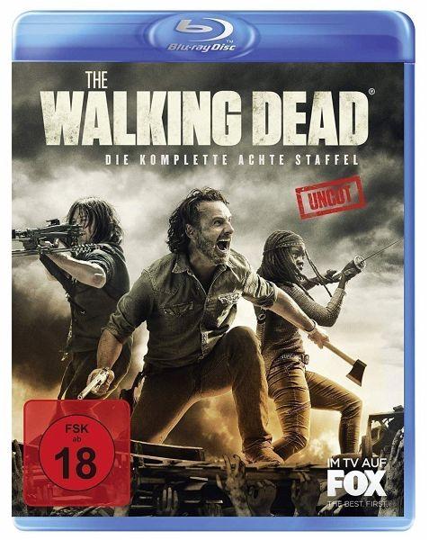 The Walking Dead - Die komplette achte Staffel (Blu-ray)