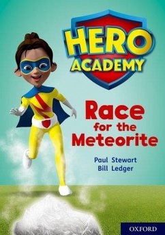 Hero Academy: Oxford Level 12, Lime+ Book Band: Race for the Meteorite - Stewart, Paul
