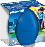 PLAYMOBIL® 70085 Osterei Polizist mit Spürhund