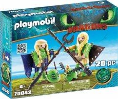 PLAYMOBIL® 70042 Raffnuss und Taffnuss mit Fluganzug