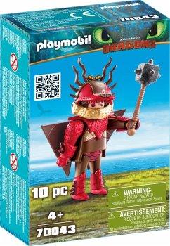 PLAYMOBIL® 70043 Rotzbakke mit Fluganzug