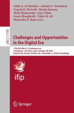 Challenges and Opportunities in the Digital Era