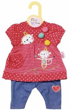 Zapf Creation 870365 - Dolly Moda Hängerchen mit Hose 38-46 cm, rot