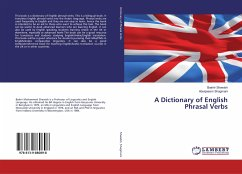 A Dictionary of English Phrasal Verbs