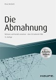 Die Abmahnung - inkl. Arbeitshilfen online (eBook, ePUB)