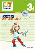 Fit für die Schule: Das kann ich! 88 Deutsch-Diktate 3. Klasse (Mängelexemplar)