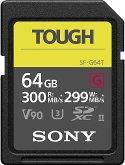 Sony SDXC Pro Tough 64GB Class 10 UHS-II U3