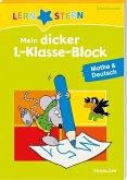 Mein dicker 1.-Klasse-Block Mathe & Deutsch (Mängelexemplar)
